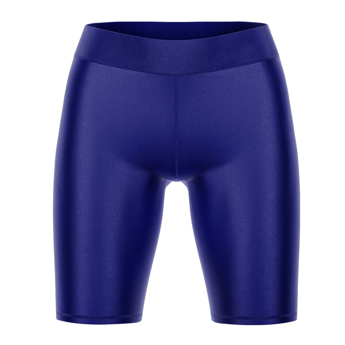 Dark Blue Yoga Shorts