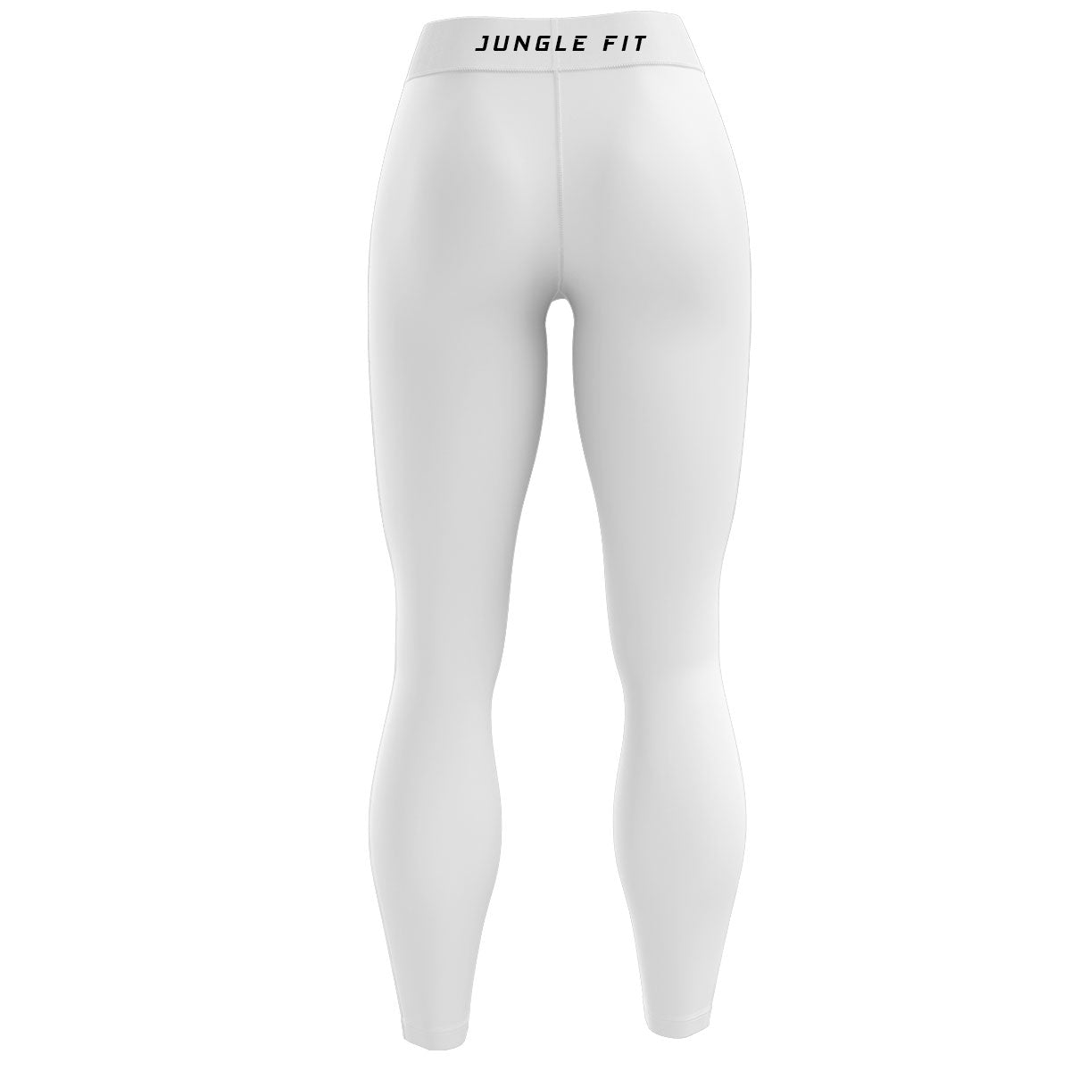 White High Waisted Yoga Leggings