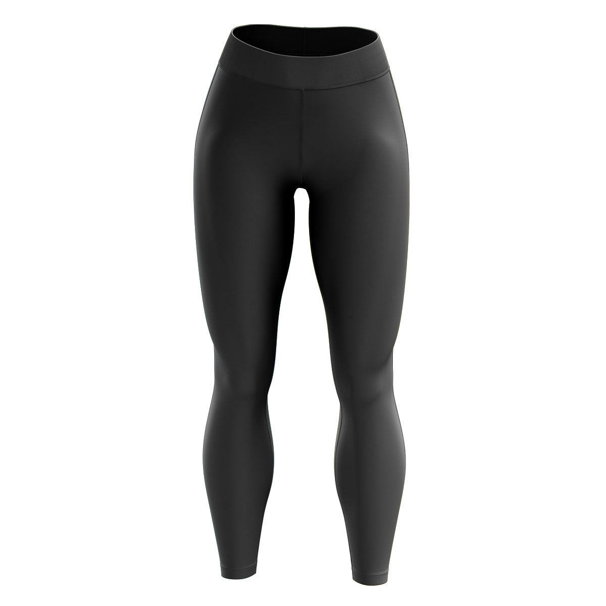 Black High Waisted Yoga Leggings