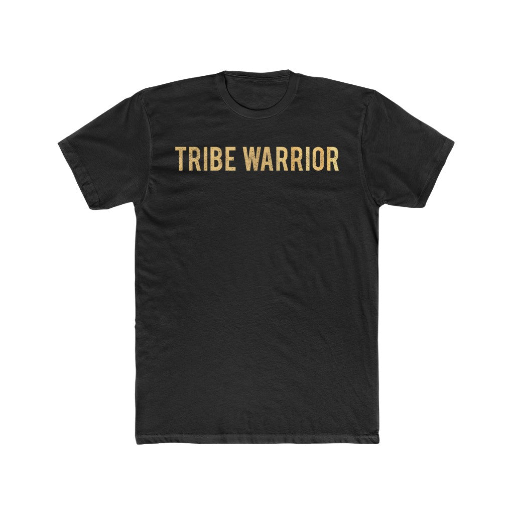 Tribe Warrior Men's Cotton Crew Tee