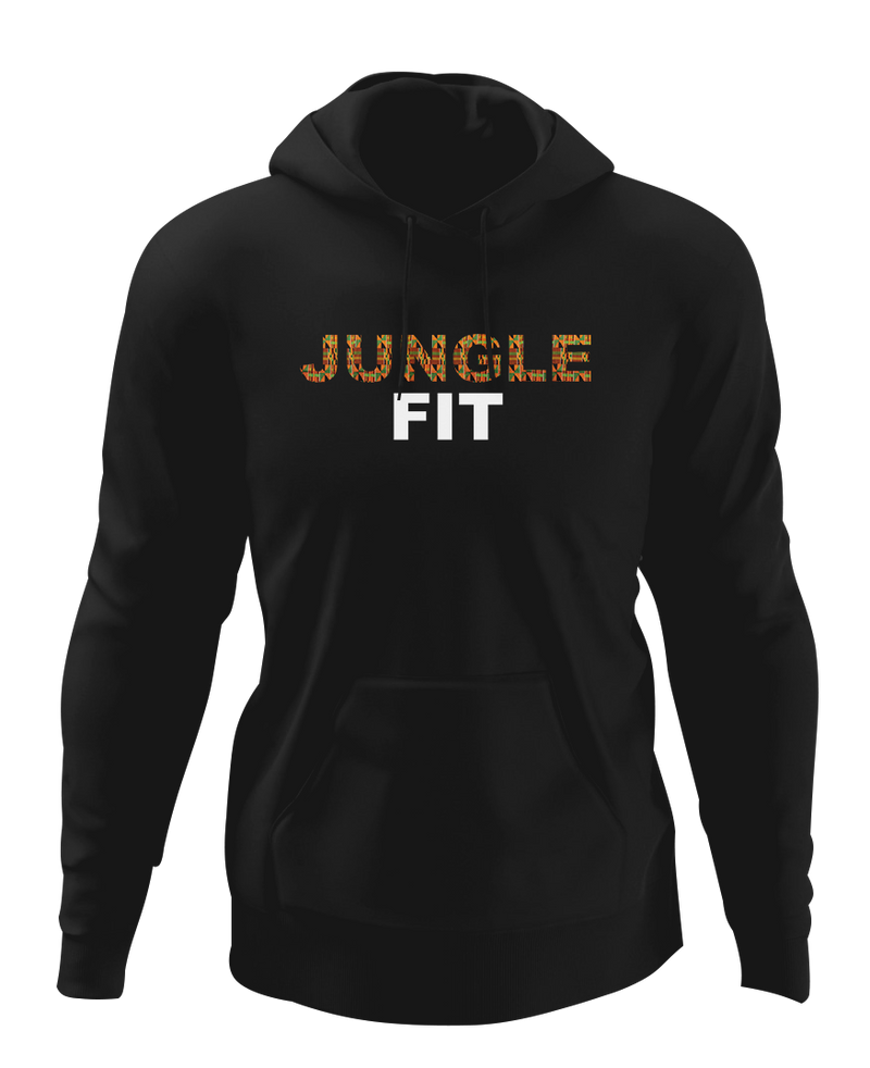 Jungle Fit African Print Hoodie
