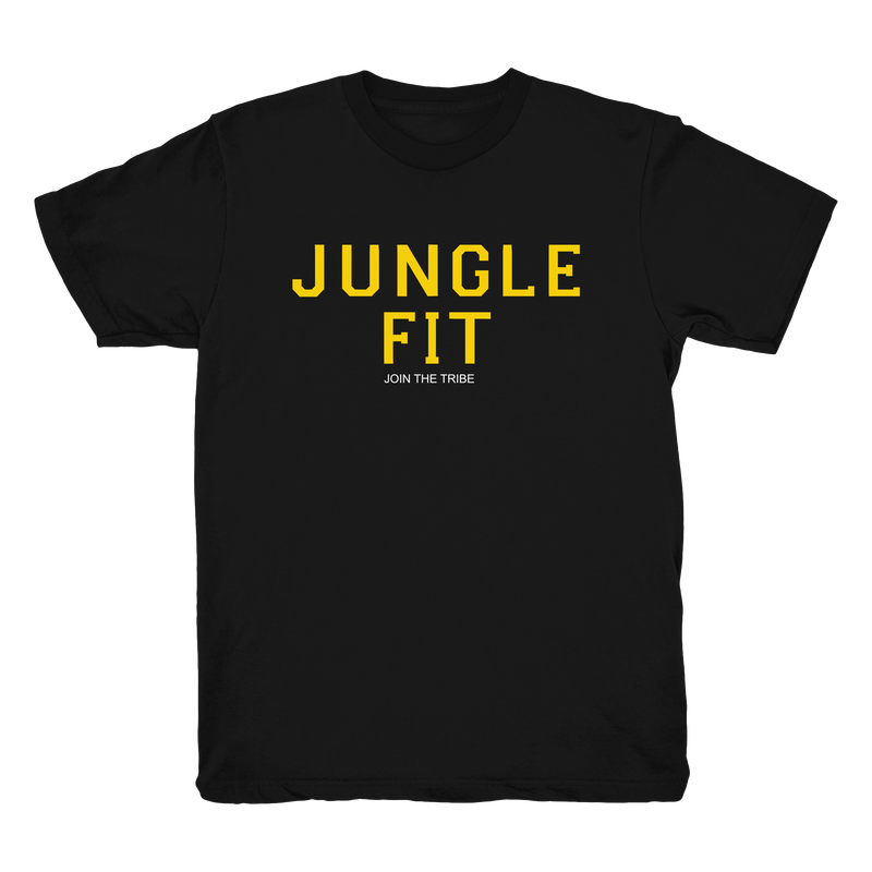 Jungle Fit Bright Yellow Tee