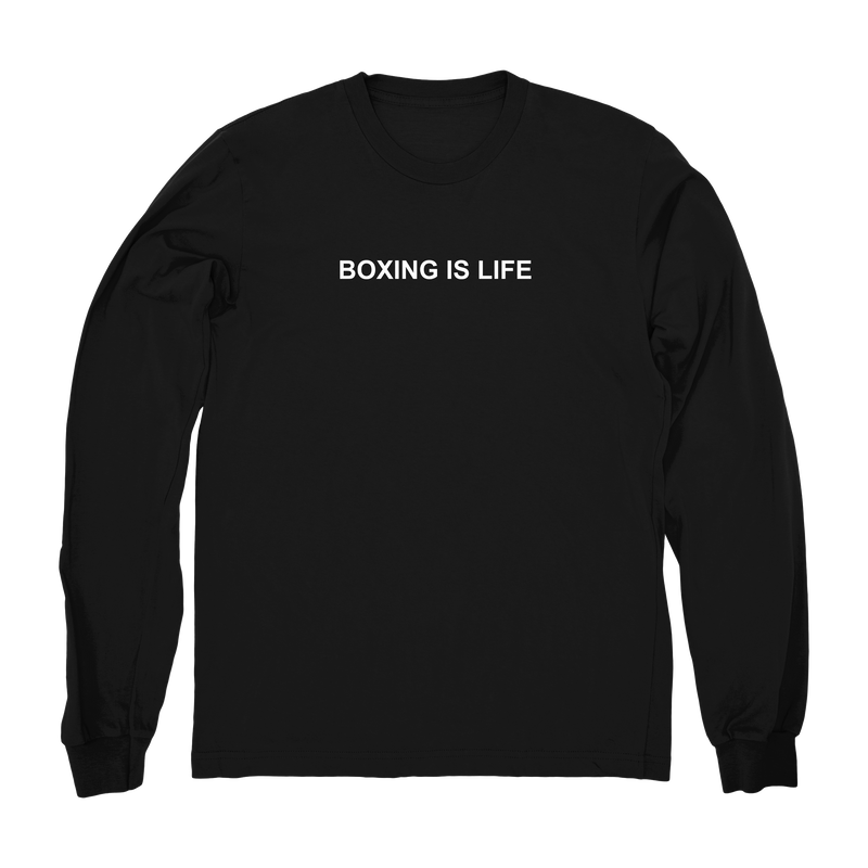 Boxing is life Fitted Crew