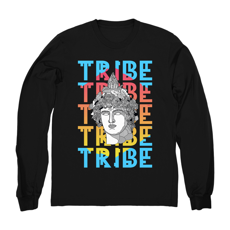 Greek Tribe Long Sleeve Fitted Crew