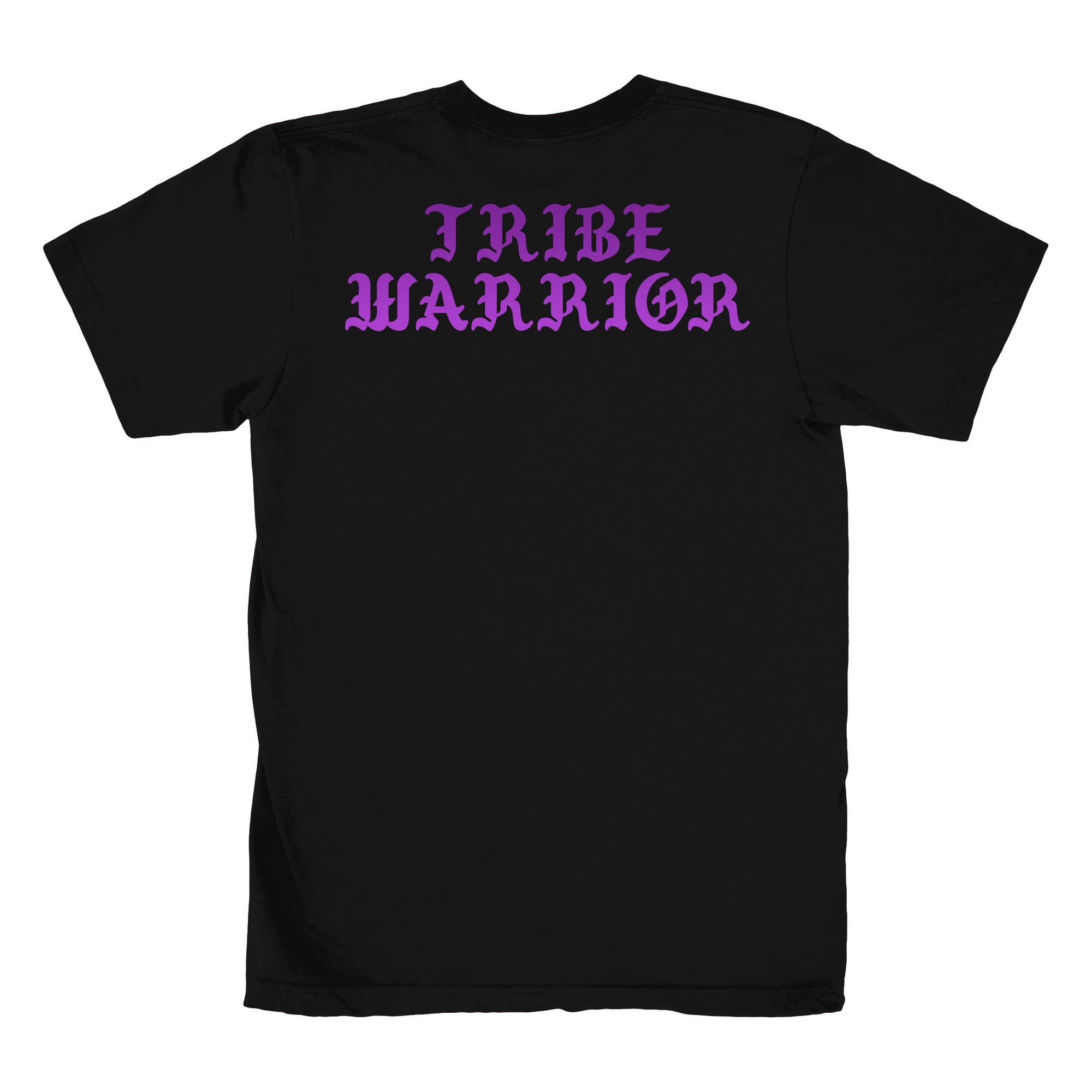 Short-Sleeve Unisex T-Shirt Tribe Warrior Purple