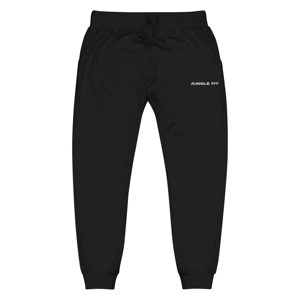 Jungle Fit Black Sweatpants