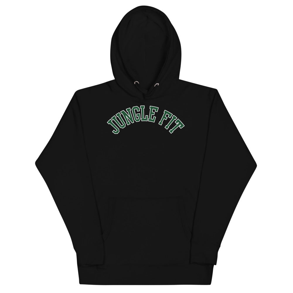 Jungle Fit Hoodie (Green Print)