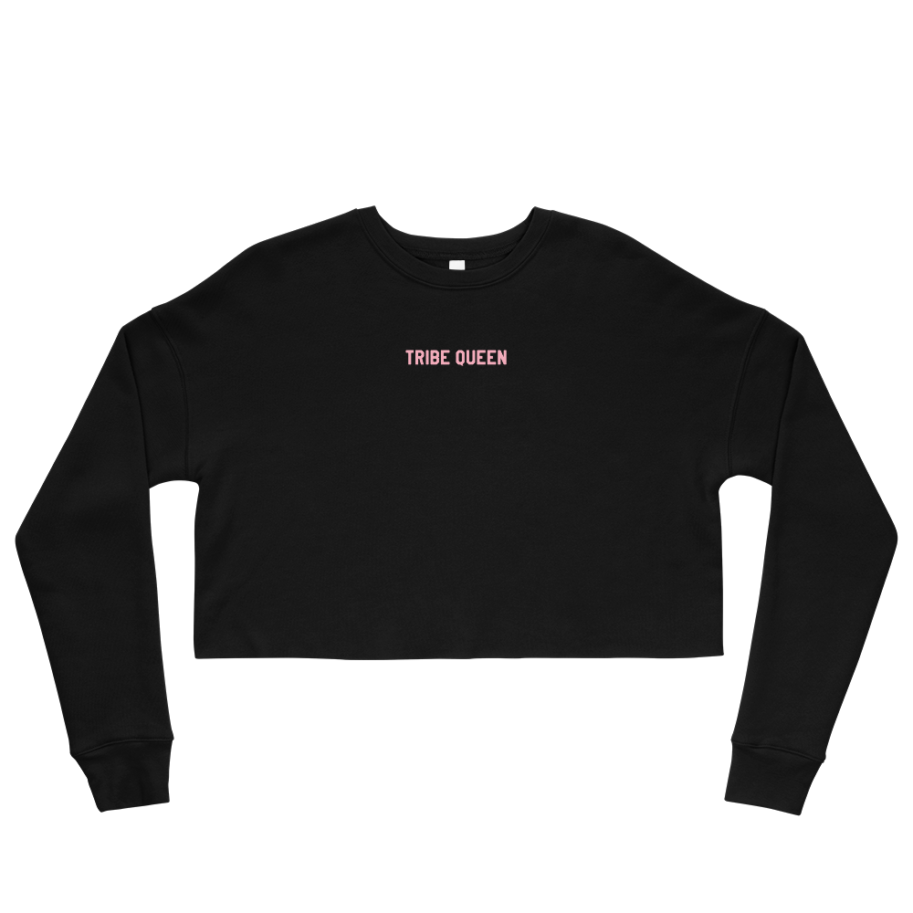 Tribe Queen Crop Sweatshirt