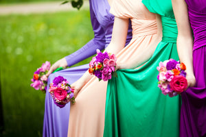 Bridesmaid's Wedding Dress Selection