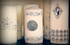 Beautiful Unity Candles
