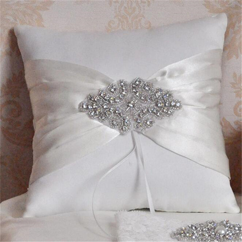 Ring Pillow Rhinestones