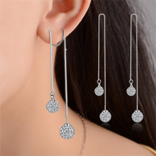 Elegant Rhinestone Earrings