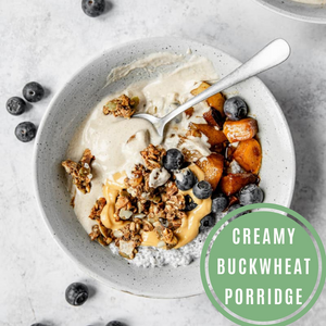 Creamy Buckwheat Porridge