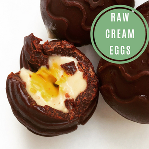 Raw Cream Eggs