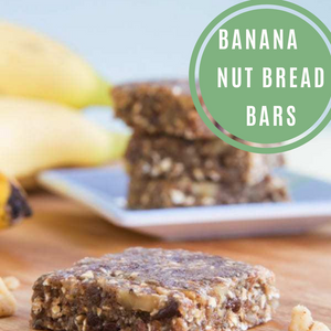 Banana Nut Bread Bars