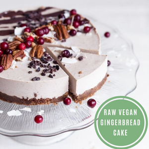 Raw Vegan Gingerbread Cheesecake