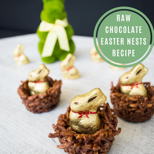 Raw Easter Nests Recipe