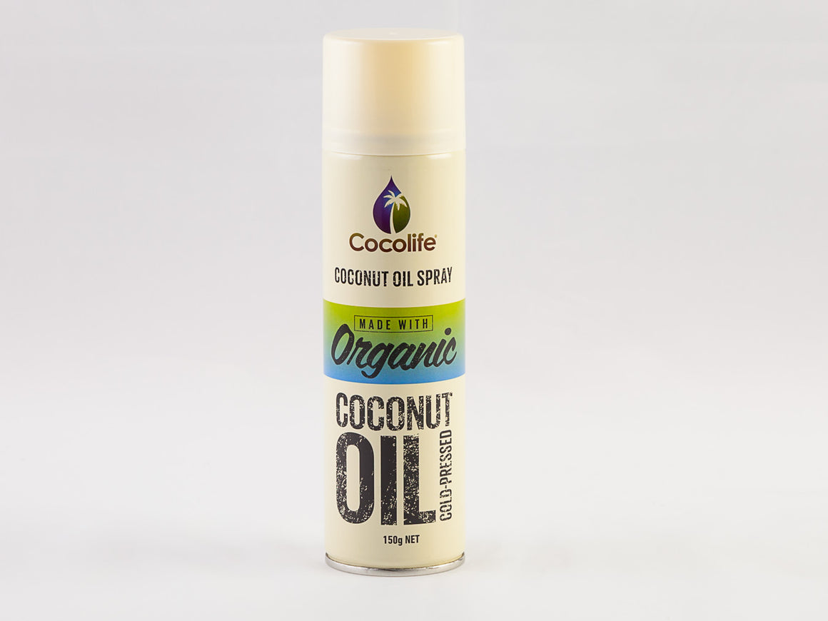 Organic Coconut Oil Spray