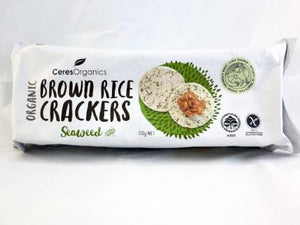 Organic Seaweed Crackers | Wholefoods Redlands