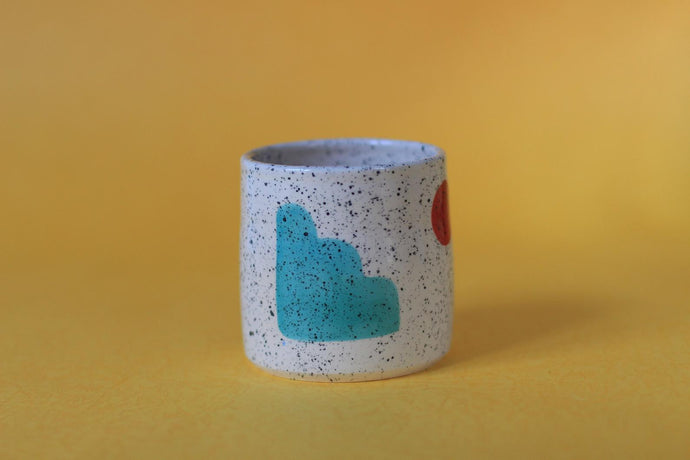 Pastel Shapes Cup