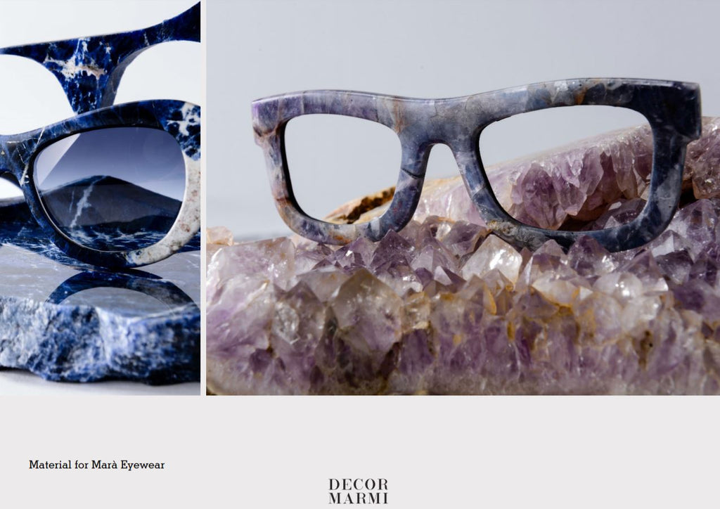 Modern Marble Sculpture designer Italian - Glasses design