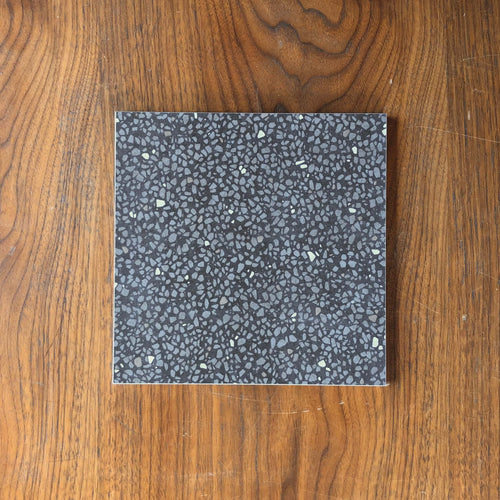 Cementine Retro Nero 200x200mm