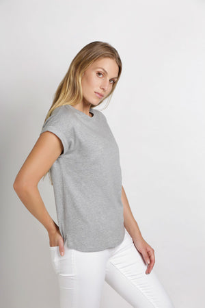 Box Tee | Grey Marle