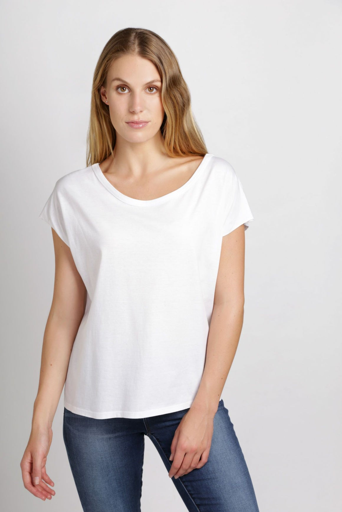 Flash Tee | White