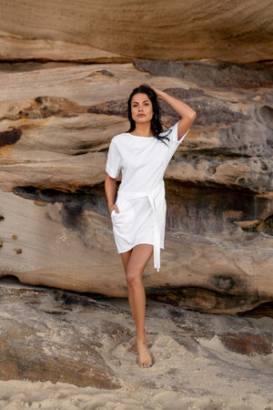 Beach Dress | White
