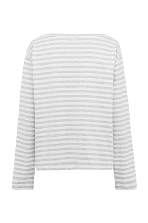 Striped Viva Boat Tee