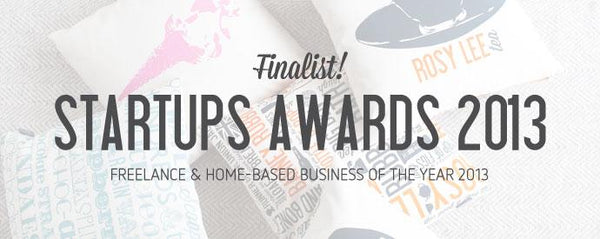 Finalist for Startups Awards 2013