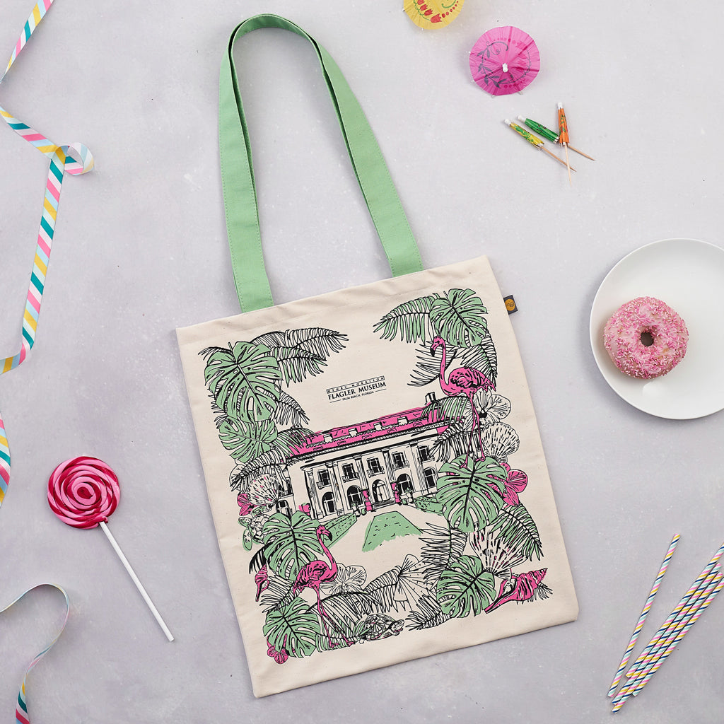 Flagler Museum Canvas Bag