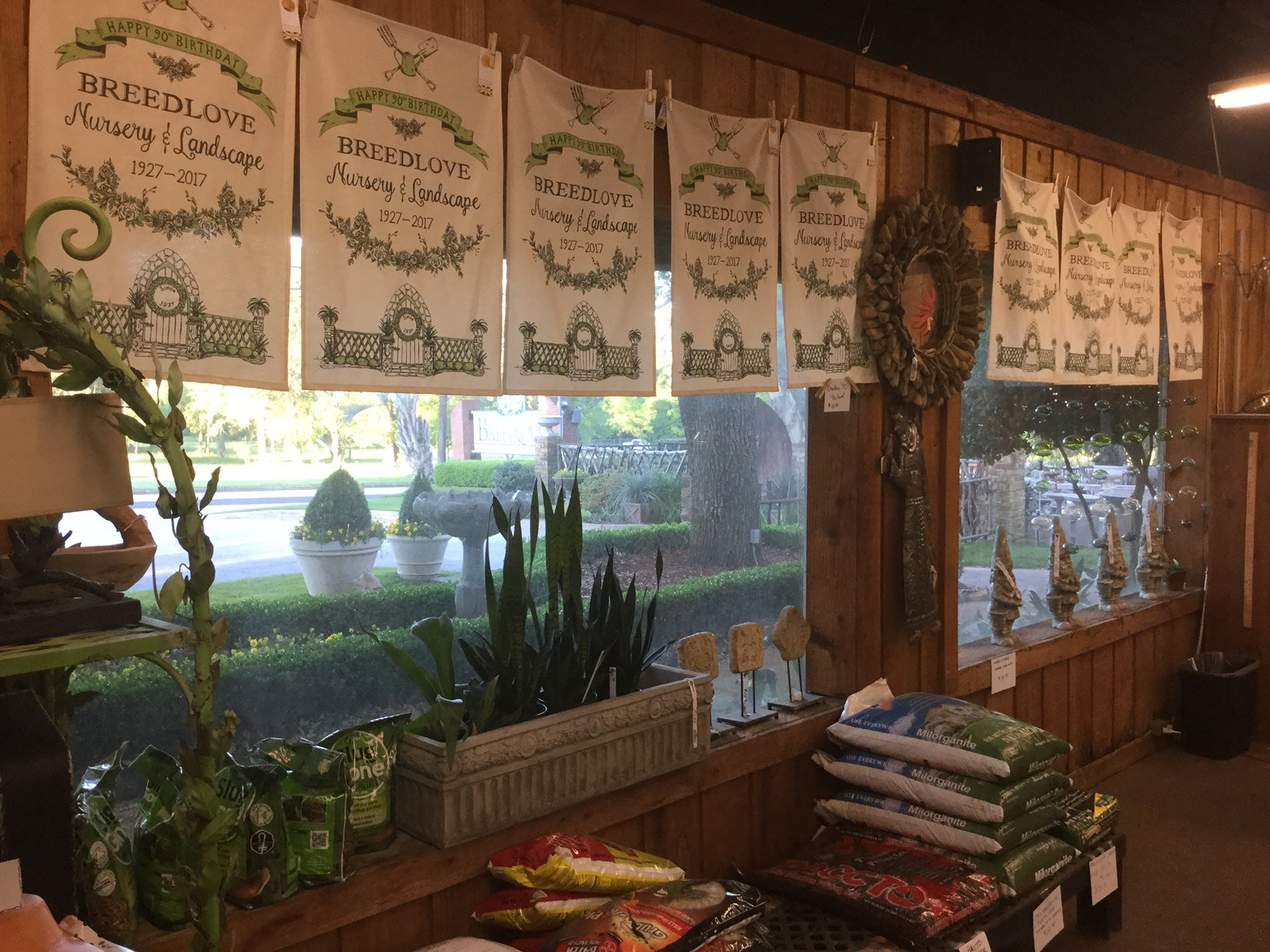 Breedlove Nursery Shop, Texas