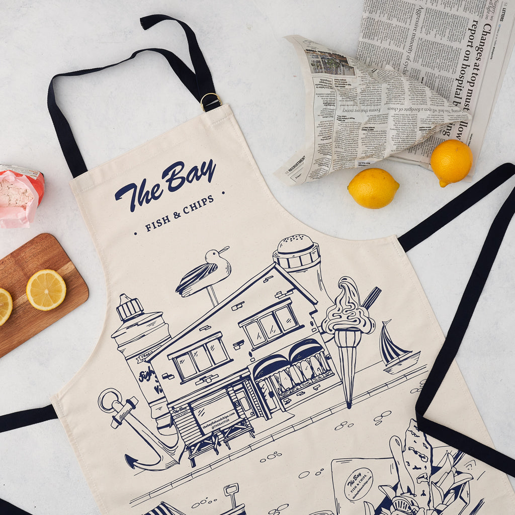 The Bay Fish and Chip Shop Apron
