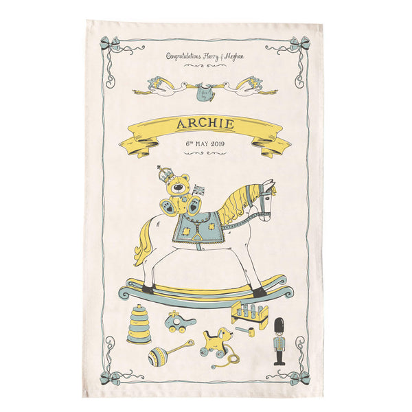 Royal Baby Archie Tea Towel
