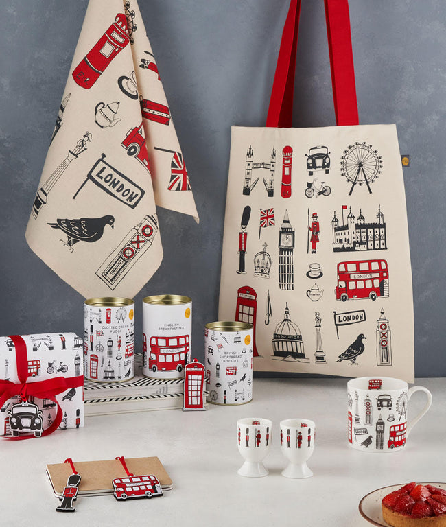London Icons Gift Wrap