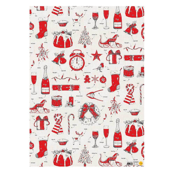 Christmas Delights Gift Wrap