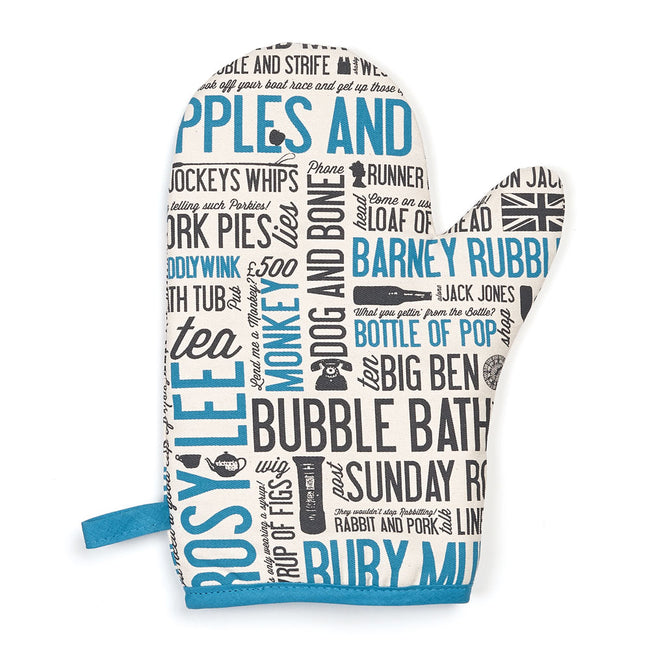 Cockney Rhyming Slang Oven Mitt