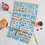 Cockney Rhyming Slang Tea Towel