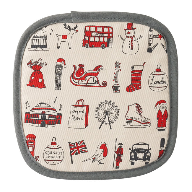 London Christmas Pot Grab/Pot Holder