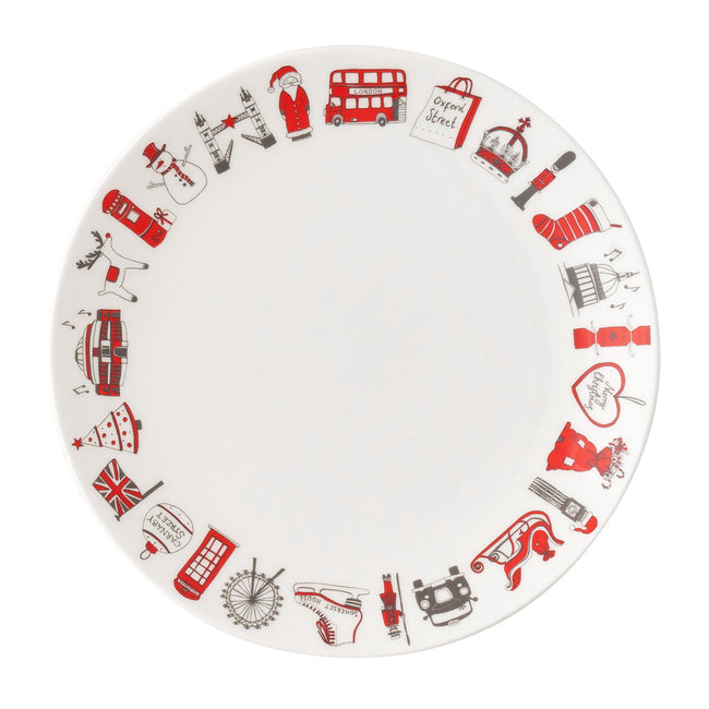 London Christmas Side Plate
