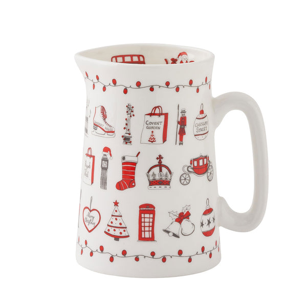 London Christmas Jug