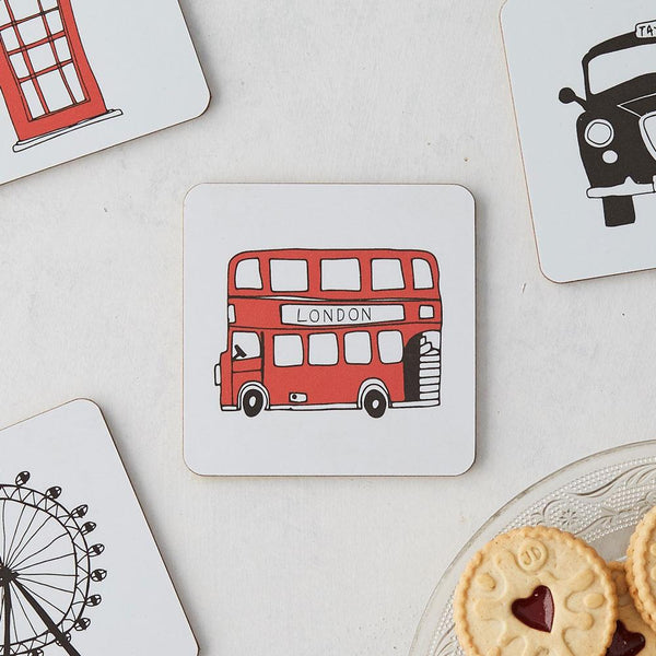 London Skyline Coaster Set of 4