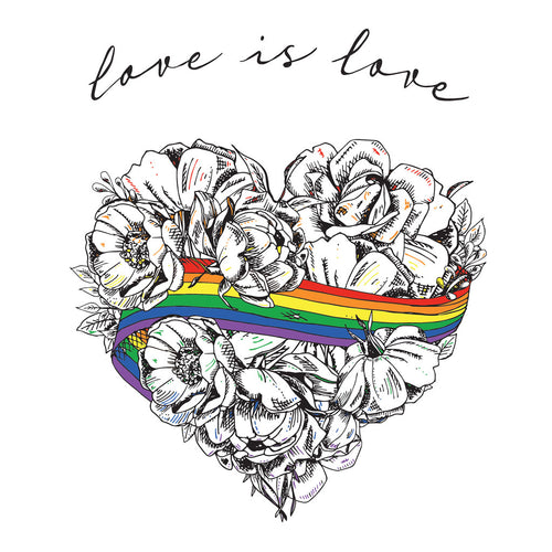 PRE-ORDER - Love is Love Temporary Tattoos