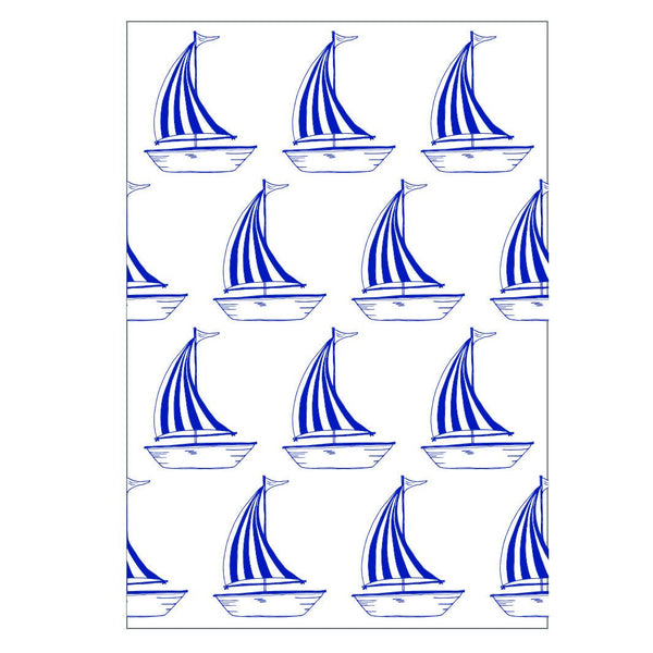 Sailing Boat Greeting Card