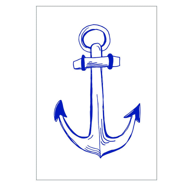 Anchor Greeting Card
