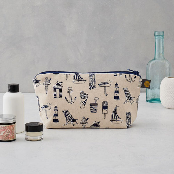 Nautical Cosmetic Bag