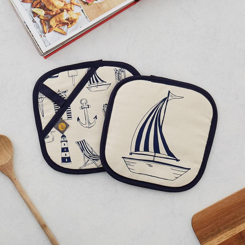 Nautical Pot Grab/Pot Holder