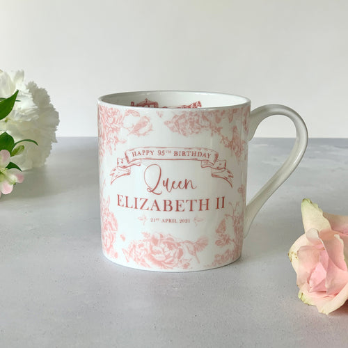 PRE ORDER Queen Elizabeth II 95th Birthday Mug