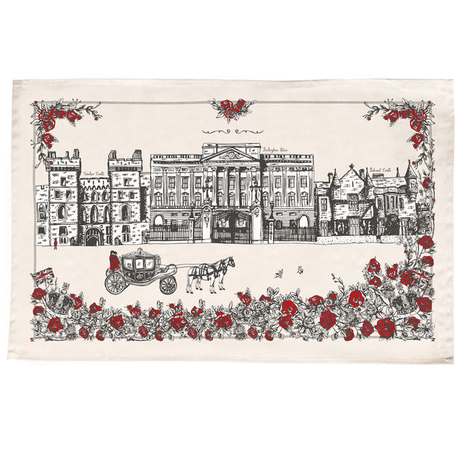 Royally British Tea Towel